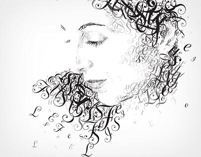 Louise Fili in Letters - Illustration