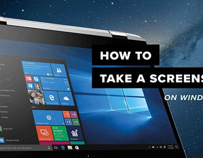 How To Screenshot On Windows - SBMHowTo