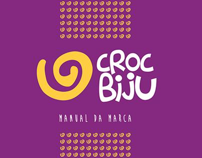 Logotio + Manual da Marca CROC BIJU