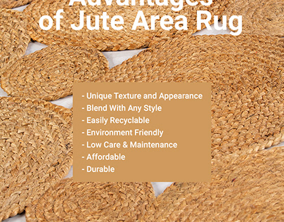 Advantage of Jute Area Rug
