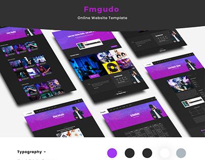 Fmgudo - Online Live Radio HTML Template