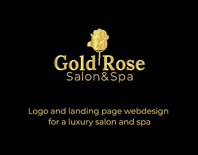 Gold Rose Salon & Spa - landing page