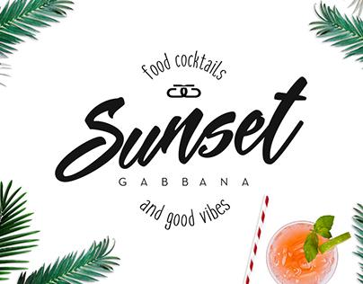 Sunset Gabbana