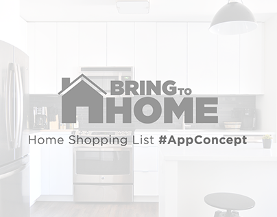 Home Shopping List App