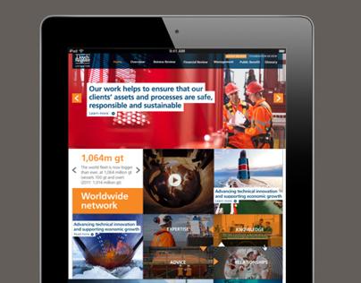 Lloyd's Register Group Review 2012   Microsite