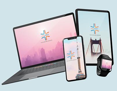 genserve Mobiles Social Media Graphic Ad