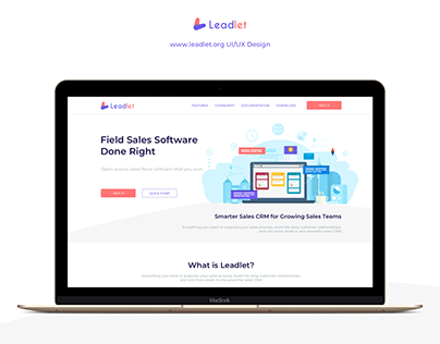 Leadlet.org - Web UI/UX Design