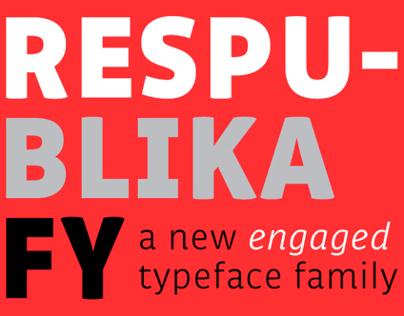 New font RESPUBLIKA FY