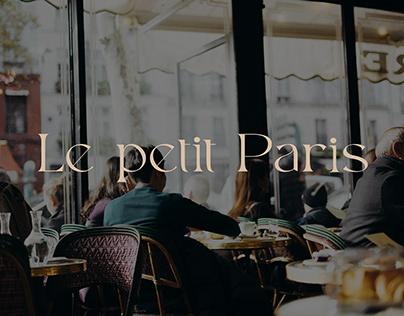 Le petit Paris Visual Identity