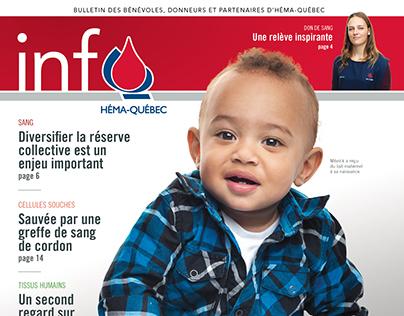Bulletin Info Héma-Québec, automne 2017