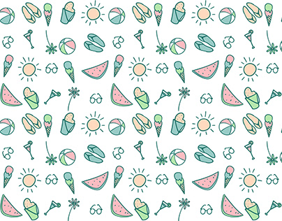 Summer Pattern Design