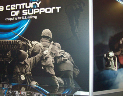 Energizer Hardcase Tactical Tradeshow Booth