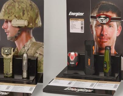 Energizer Hardcase Tactical Counter Displays