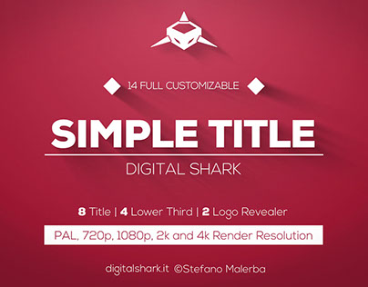 12 Simple Titles   Free Template
