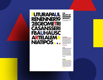 """Typographical posters 
