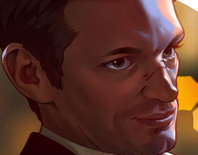 Joel Kinnaman Portrait