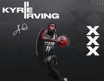Kyrie Irving Brooklyn Nets Graphic [Personal]