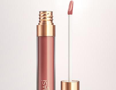 Nude Lip Gloss Farmasi Cosmetic