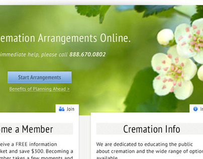 Missouri Cremation Website Design