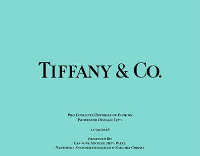 Brand Extension - Tiffany & Co.