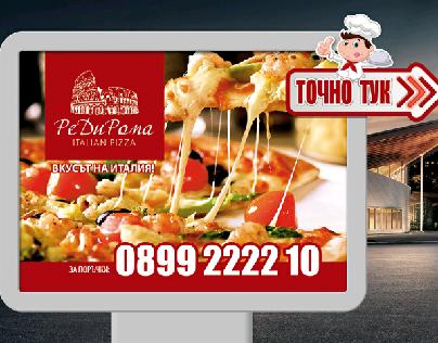 ReDiRoma Italian pizza