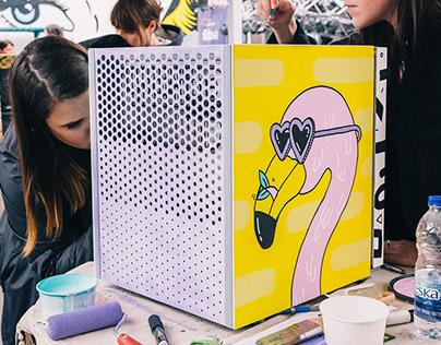 Mural x Redbull Canvas Cooler