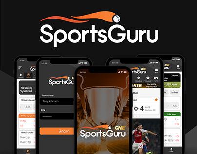 SportsGuru - App Redesign