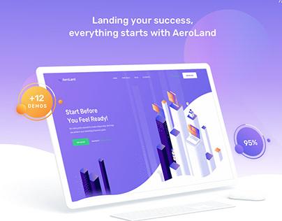 App Landing AeroLand