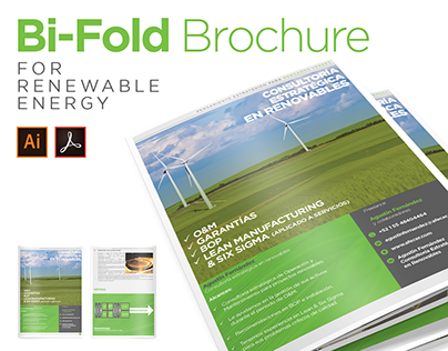 Bi-Fold Brochure for Renewable Energy