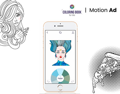 Motion Ad | Coloring Book