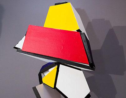 Polychromatic Planar Sculpture