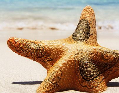 Montaje photoshop - Tattoo Beach