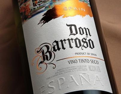 "Label design for Spanish wines ""Don Barroso"""