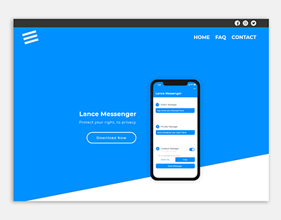 Private Messaging App