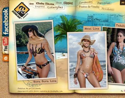 Website Design for Bikini company