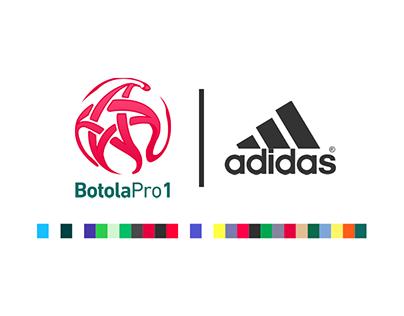 Adidas X BotolaPro1 - Home & Away Shirts Concept .