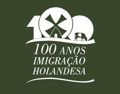 Selo do Centenário da Imigração Holandesa no Br