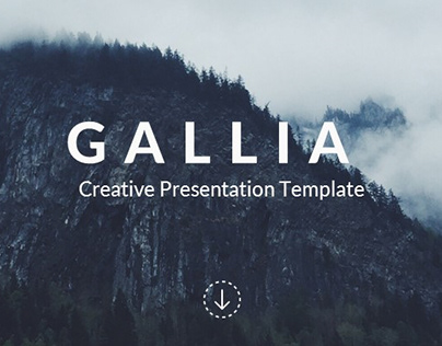 Gallia - Creative Powerponint Template UPDATE V2.1