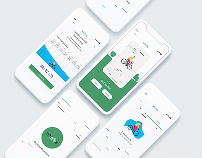 Wheels Qatar - Mobile Application UI