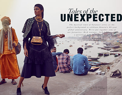 GRAZIA INDIA - OCTOBER 2018 - TALES OF THE UNEXPECTED