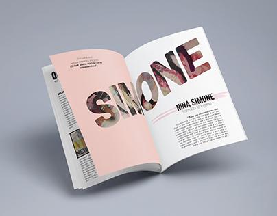 Nina Simone Magazine feature story