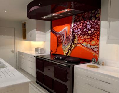 Kitchen Splasback Commission