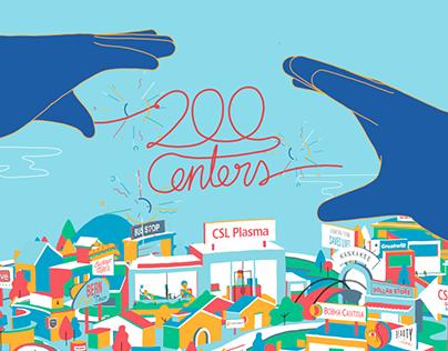 200 Centers Celebration