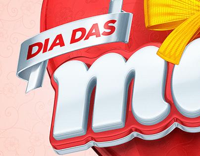 Selo 3D - Dia das Mães - Free Download