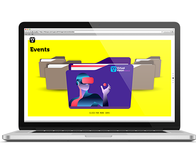 Virtual Vision Events Website