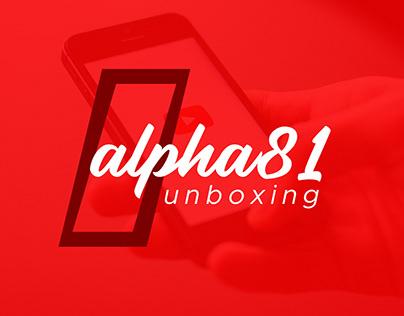 Alpha81 Unboxing (Logo Design)