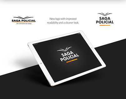 Saga Policial - New Homepage and logo update