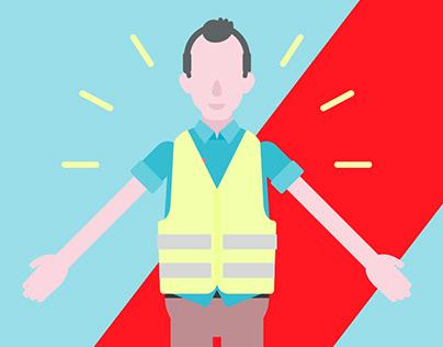 AXA assistance - illustration & animation