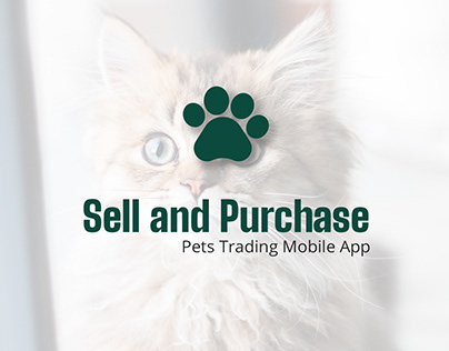 Sell and Buy Pets Mobile App With Latest Design