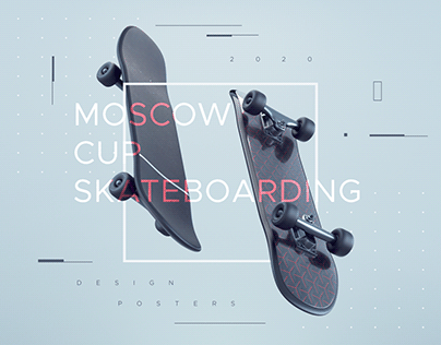 Poster Collection | Moscow Cup Skateboarding